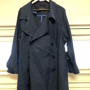 Eloquii Blue Trench Coat